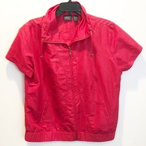 Additions by Chico's pink windbreaker size 2